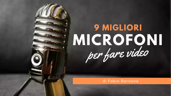9 MIGLIOR MICROFONO per fare video Youtube [2020]