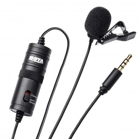 Miglior microfono lavalier per fare video e interviste: Boya M1