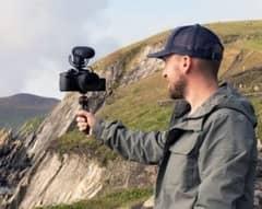 reflex video con presa microfono