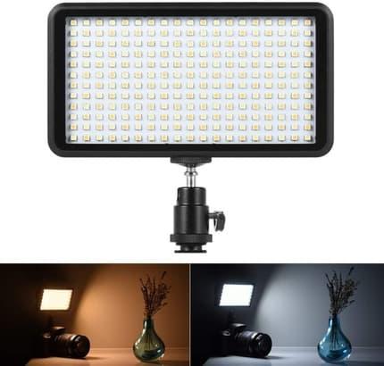 Pannello LED Portatile per fare video Youtube e Tik Tok - Luce Calda e Fredda