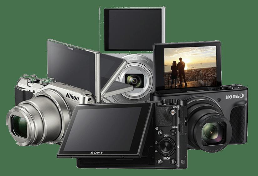 Fotocamere per fare video con schermo reclinabile